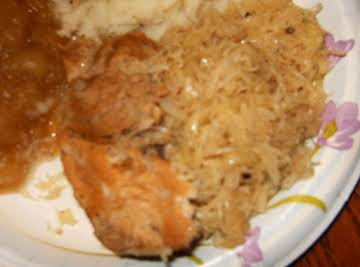 Sauerkraut and Ribs