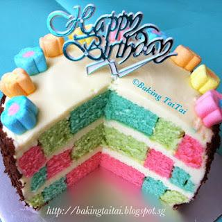 Plain Sponge Cake.