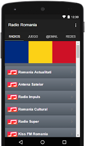 Radio Romania Gratis screenshot 0