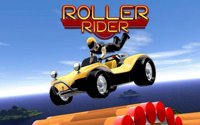 Roller rider toy