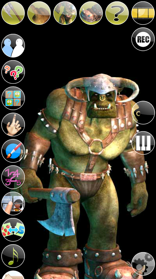 Talking Ork- screenshot