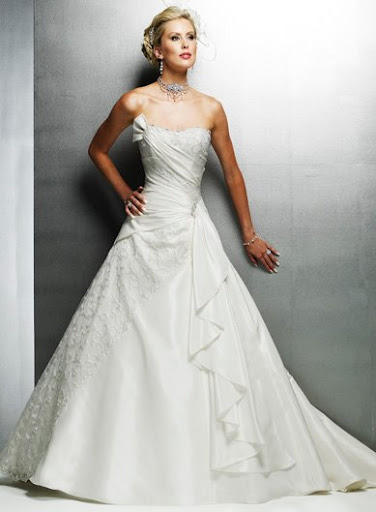Princess Modern Bridal Gown / Wedding Dress
