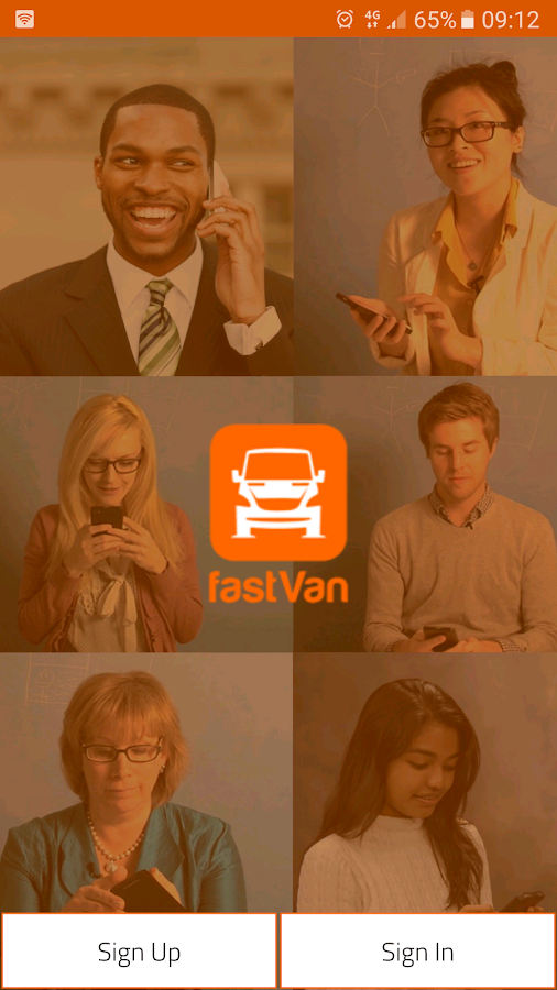 Fastvan- screenshot