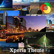 24 cities | Xperia™ Theme - every hour one city