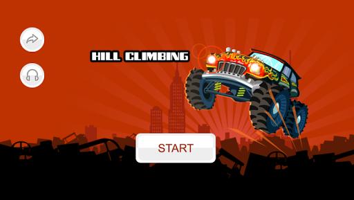 Hill Climbing Trucks screenshot 1