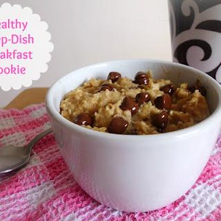 Healthy Deep-Dish Breakfast Cookie.