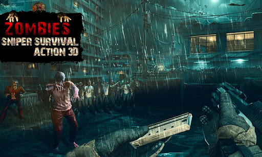 Zombies Sniper: Survival Action 3D 1.0.2 {cheat|hack|gameplay|apk mod|resources generator} 4