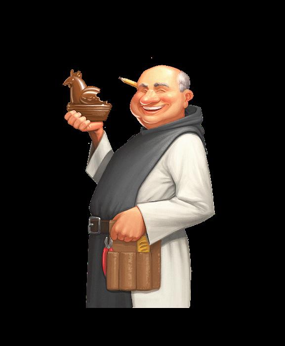 .... Le moine Patenteux .. The Tinkerer monk ....