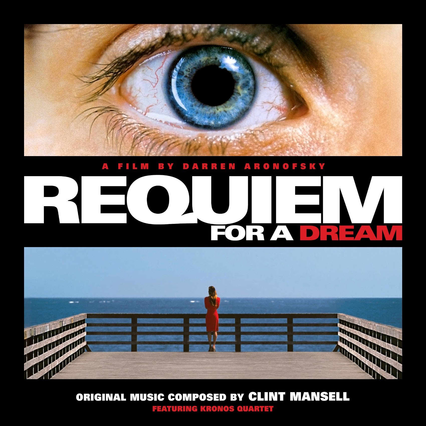 Album Artist: Clint Mansell featuring Kronos Quartet / Album Title: Requiem for a Dream (Original Music Composed by Clint Mansell featuring Kronos Quartet) [Custom Square Album Art]