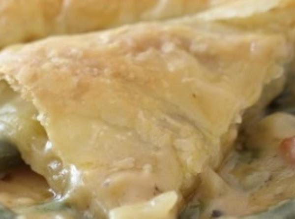 Cheesy Green Bean Bacon Pie Recipe