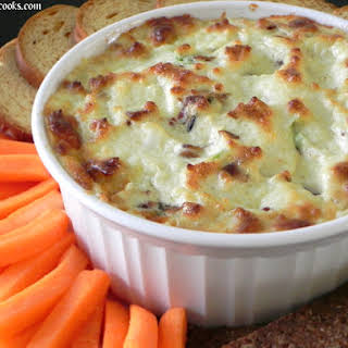 Swiss and Bacon Dip.