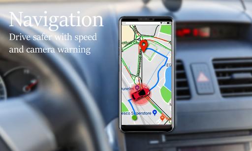 Voice GPS Driving Route : Gps Navigation & Maps screenshot 8