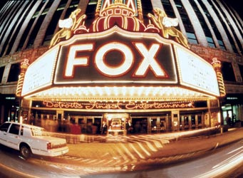 Fox Theater Detroit wedding venue