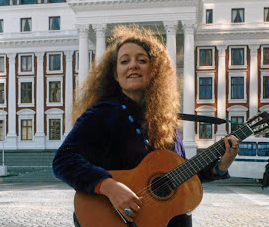 Former ANC MP, singer and songwriter Jennifer Ferguson - who now lives in Sweden - photographed in 1994 in front of parliament in Cape Town.