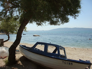 Photo: Kastela coastline