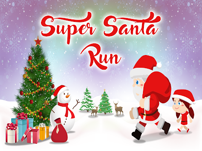 Super Santa Adventure Run- screenshot thumbnail