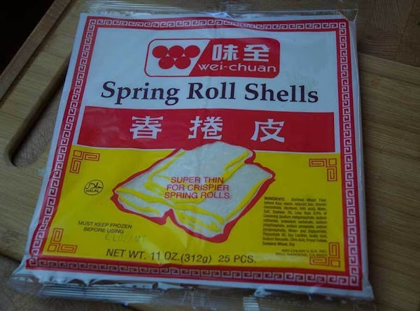 Chef's Note: One of the secrets to a good eggroll is the wrapper, and...