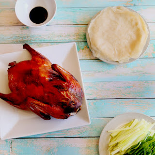 PEKING DUCK WITH CHINESE PANCAKES
