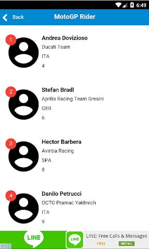 免費下載運動APP|2016 Moto GP Calendar & Result app開箱文|APP開箱王