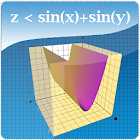trinomial factoring graphing 3d calculator icon