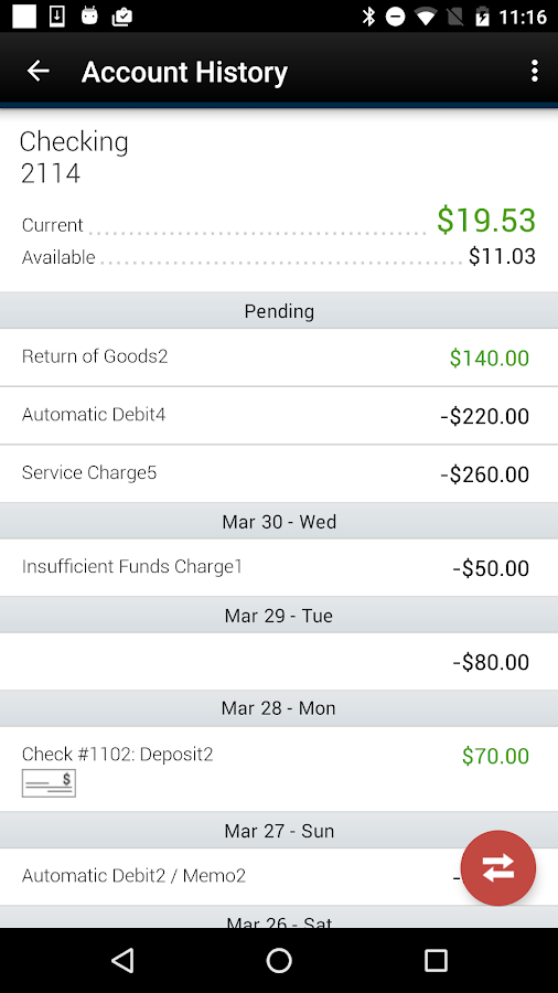 Bank of Dickson Mobile- screenshot
