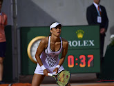Vasilia Diatchenko lijkt wel heel gespierde armen te hebben