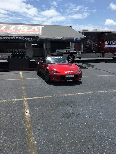 Eric Brown's ND MX-5 in the winners' lane at DriveAutoX
