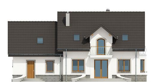 Dom Dla Ciebie 3 z garażem 2-st. A3 - Elewacja tylna