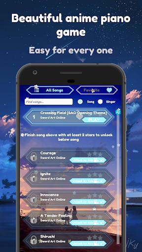 Sword Art Online Piano Tiles 2019 1.0 screenshots 1