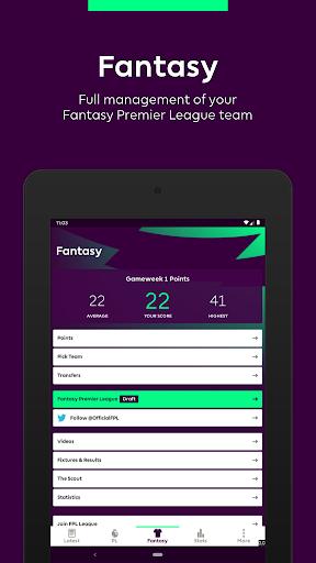 Premier League - Official App 2.2.6.1497 screenshots 8