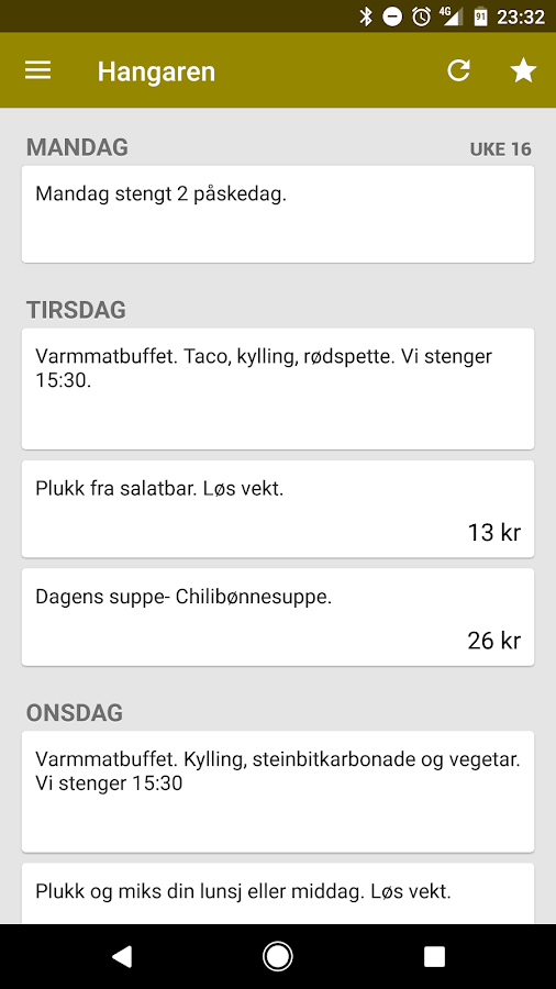 SiT Mat - Middag og lunsj- screenshot