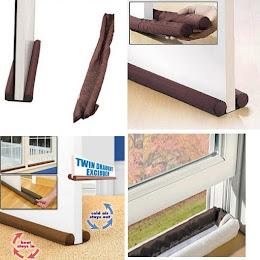 Protejeaza casa de curent! Twin Draft Guard - 2 huse usa/fereastra