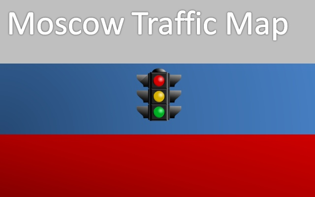Traffic Map Moscow