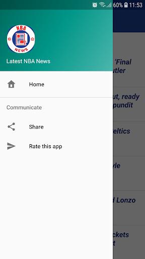 Latest NBA News 1.0 screenshots 3