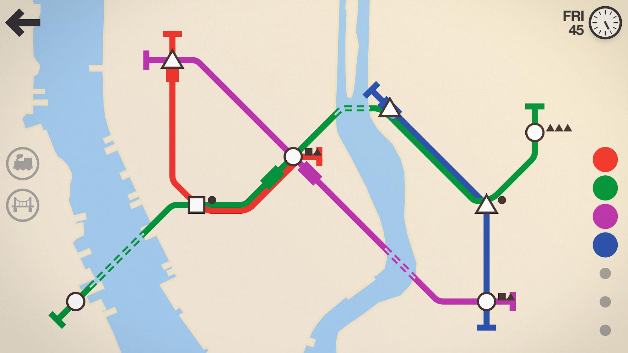 Mini Metro screenshot #6