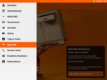 Abfall-App | BSR Screenshot 9