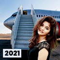 Aeroplane Photo Editor and Frames icon