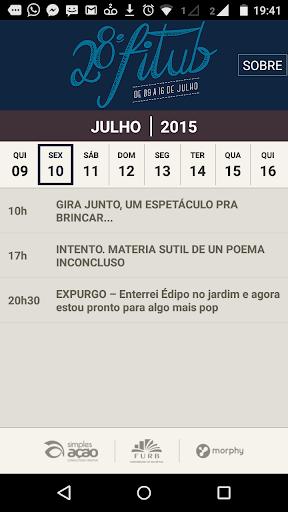 FITUB 2015 Festival de Teatro