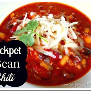 Crockpot 3 Bean Chili.