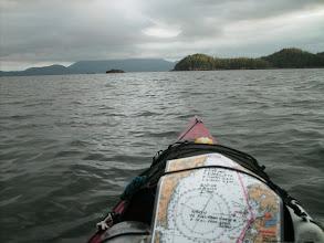 Photo: June 2 - Leaving Namu and headed across Burke Channel.