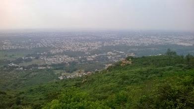 Photo: Mysore z Chamundi hills