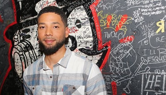 Jussie Smollett makes first appearance after attack.