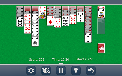 Spider Solitaire Classic apkpoly screenshots 8