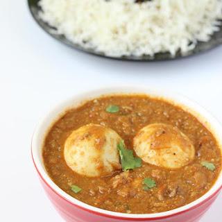 Egg Curry Recipe, How To Make Egg Curry
