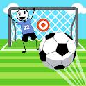 Stickman Soccer Shootout Cup: Penalty Kick game icon