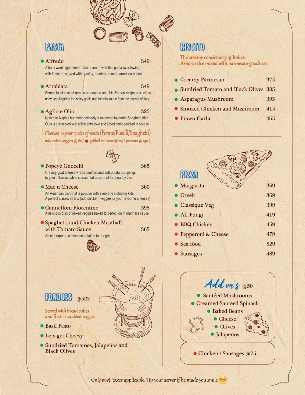 Chocolateria San Churro menu 3