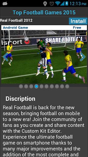 Top Football Games 2015