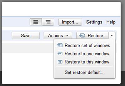 Guardar pestañas/sesión en Chrome [Extensión]