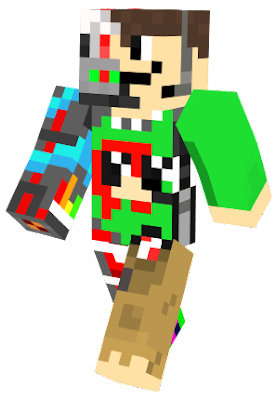 This is the fixed version of the skin I made. Please go to hypixel and message me if you got this skin. My username is StanDeGreat :) (my username is very cringy but I'm not going to change it)