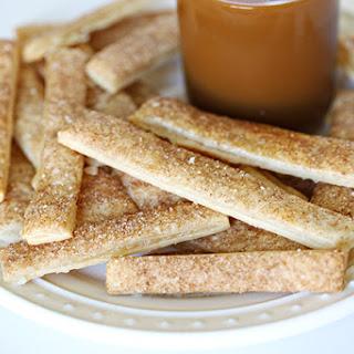 Cinnamon Apple Pie Fries